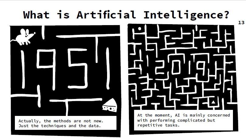 Dieser Comic erklärt, was künstliche Intelligenz ist
