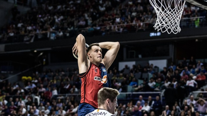 February 15 2019 Madrid Madrid Spain Johannes Voigtmann 7 of KIROLBET Baskonia during the Co; Johannes Voigtmann