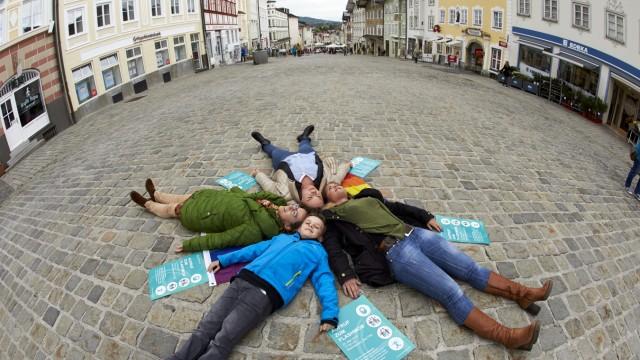 Marktstraße Flashmob