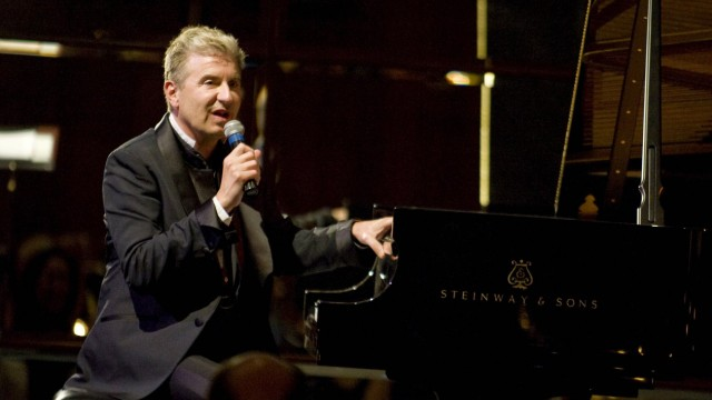 May 4 2014 Newport Beach California U S Jean Yves Thibaudet performs at the Dean Corey farewe