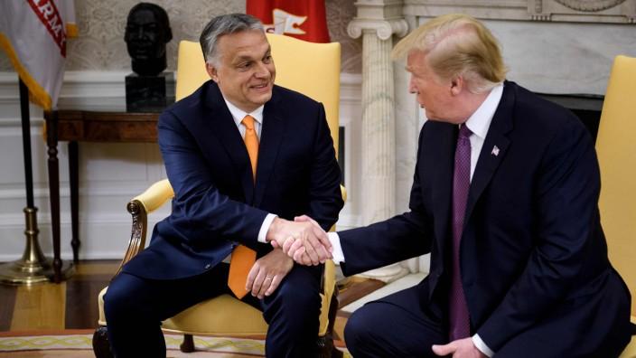 Trump hosts Hungarian Prime Minister Viktor Orban