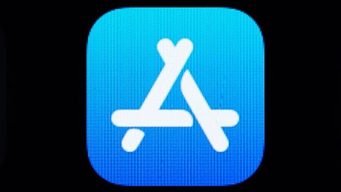 Apple App-Store auf einem iPhone