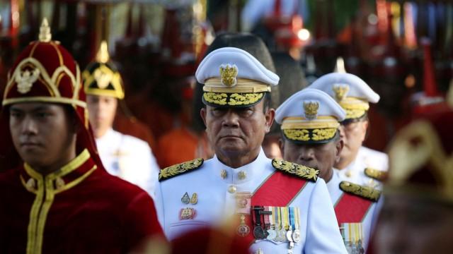 FILE PHOTO: Coronation procession for Thailand's newly crowned King Maha Vajiralongkorn in Bangkok