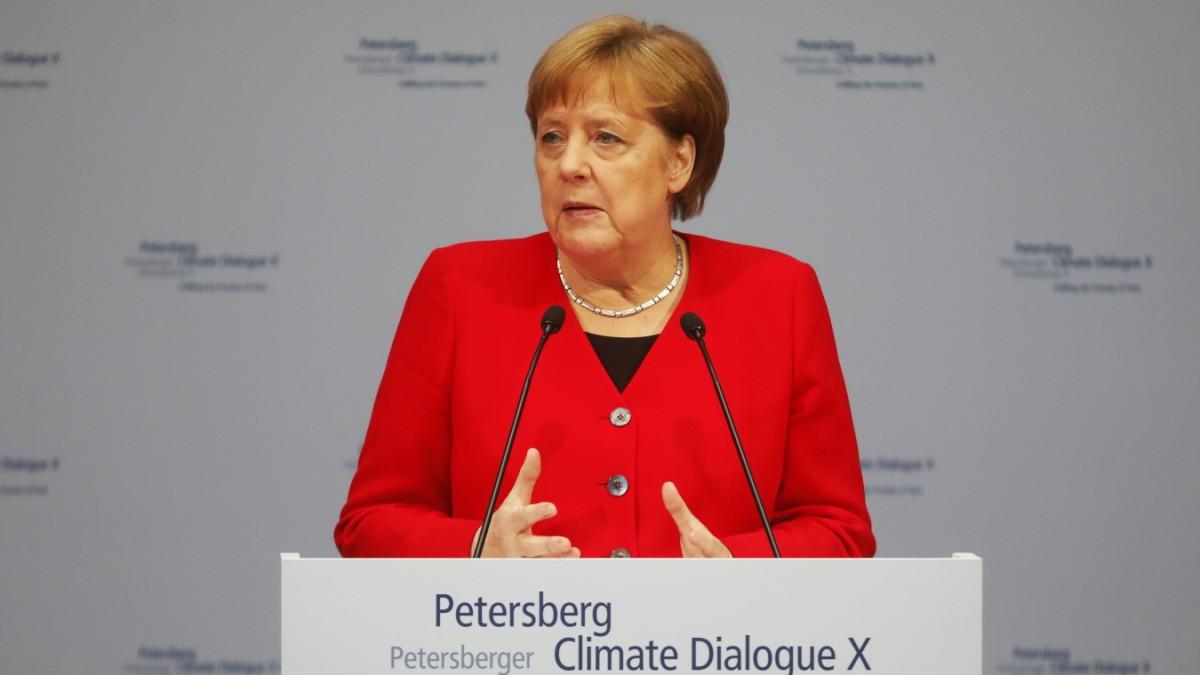 Merkel will CO₂-Neutralität bis 2050 erreichen
