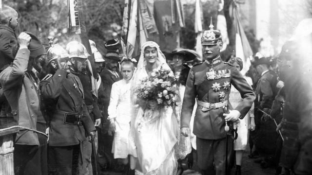 Rupprecht von Bayern heiratet Antonia von Luxemburg, 1921