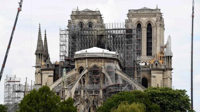 Unglück und Unfall Notre-Dame