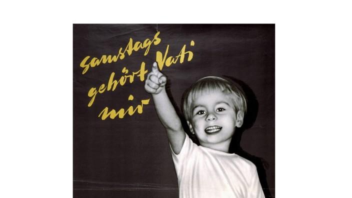 DGB/Arbeitszeitverkuerzung/Plakat 1956