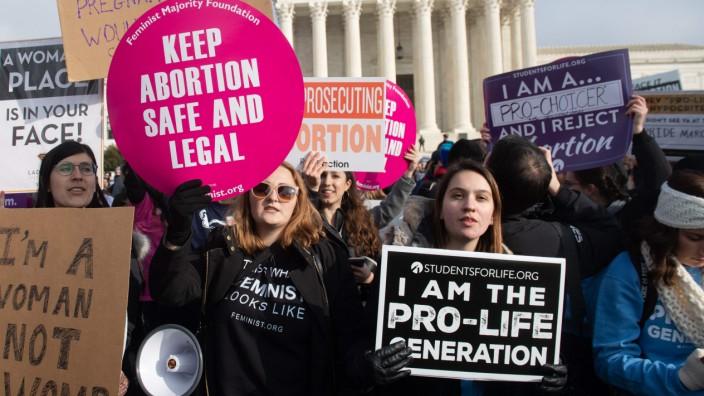 Abtreibung USA Alabama