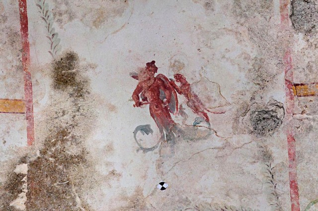 Sphinx Halll at Nero's Domus Aurea re-emerges, Rome, Italy - 08 May 2019
