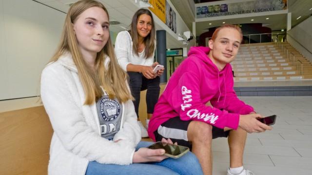 Modellprojekt Handynutzug in Realschule.