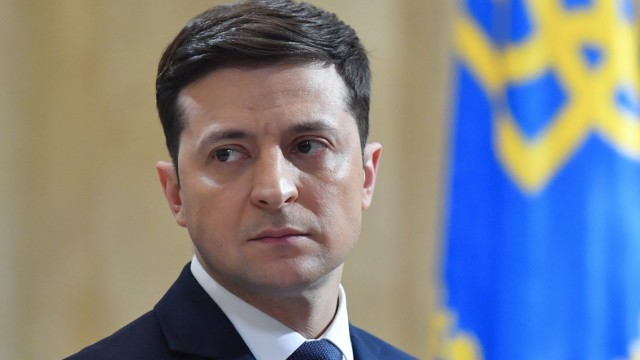 Ukraine - Der designierte Präsident Wolodimir Selenskij