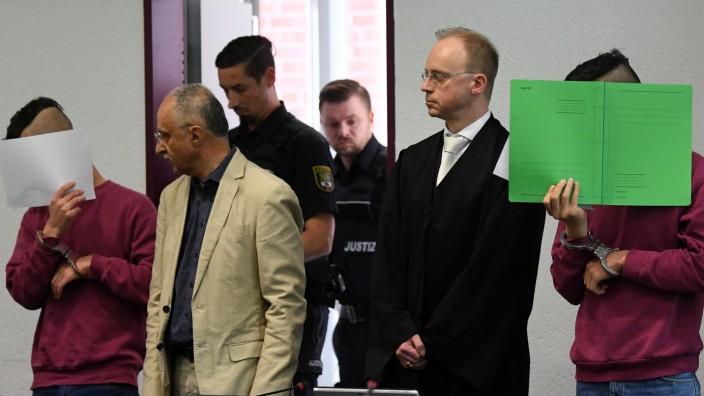 Fall Köthen - Die Angeklagten am Tag der Urteilsverkündung