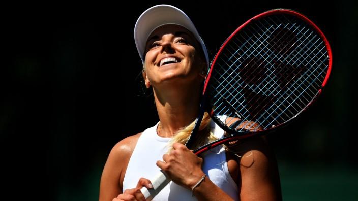 Wimbledon Championships Qualifying - Day 2; Sabine Lisicki