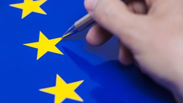Symbolfoto Europawahl *** Symbol photo European election