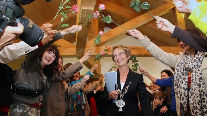 Blumenspalier für Christel Muggenthal
