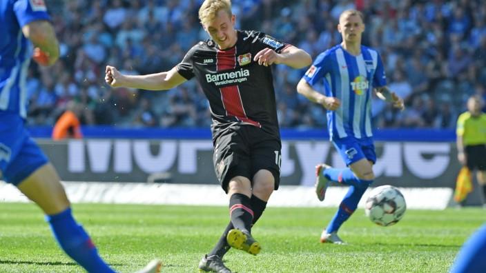 Hertha BSC v Bayer 04 Leverkusen - Bundesliga
