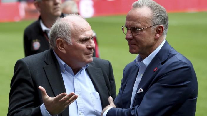 FC Bayern: Uli Hoeneß und Karl-Heinz Rummenigge