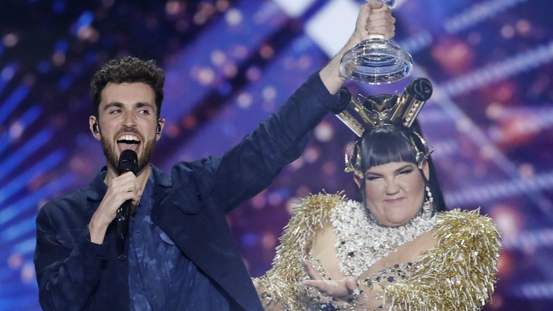 Niederlande gewinnen Eurovision Song Contest
