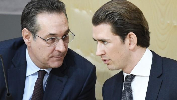 Nationalratssitzung in Wien