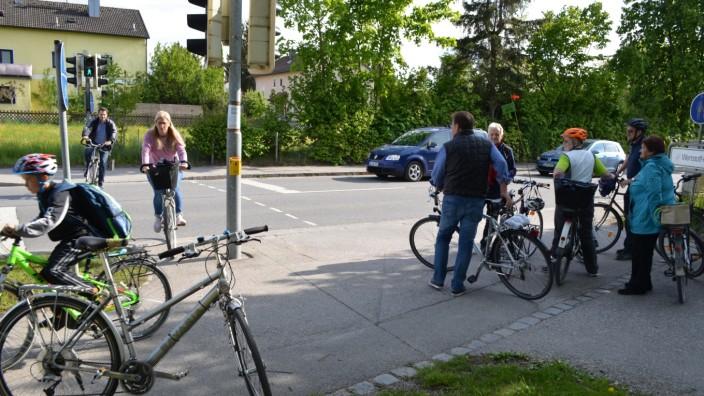 Mit dem Fahrrad durch Pliening, Bund Naturschutz