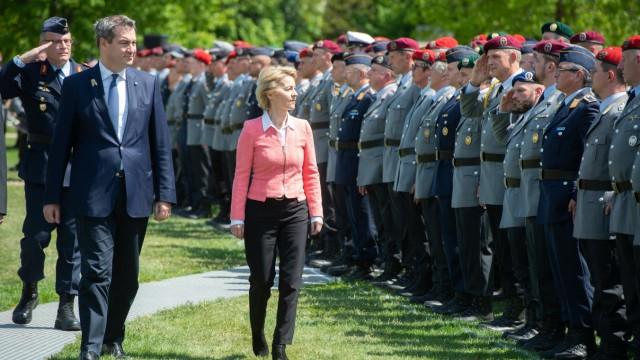 Landesregiment Bayern wird in Dienst gestellt