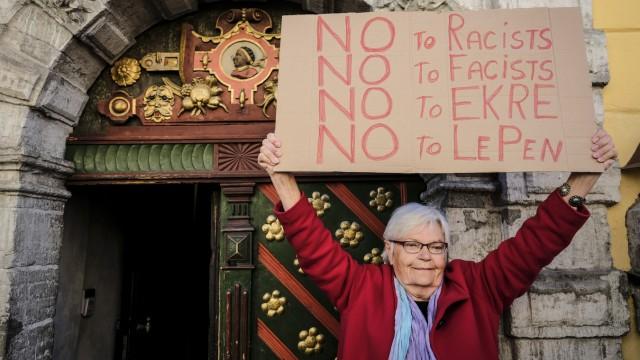 Estland Rechtspopulismus Proteste