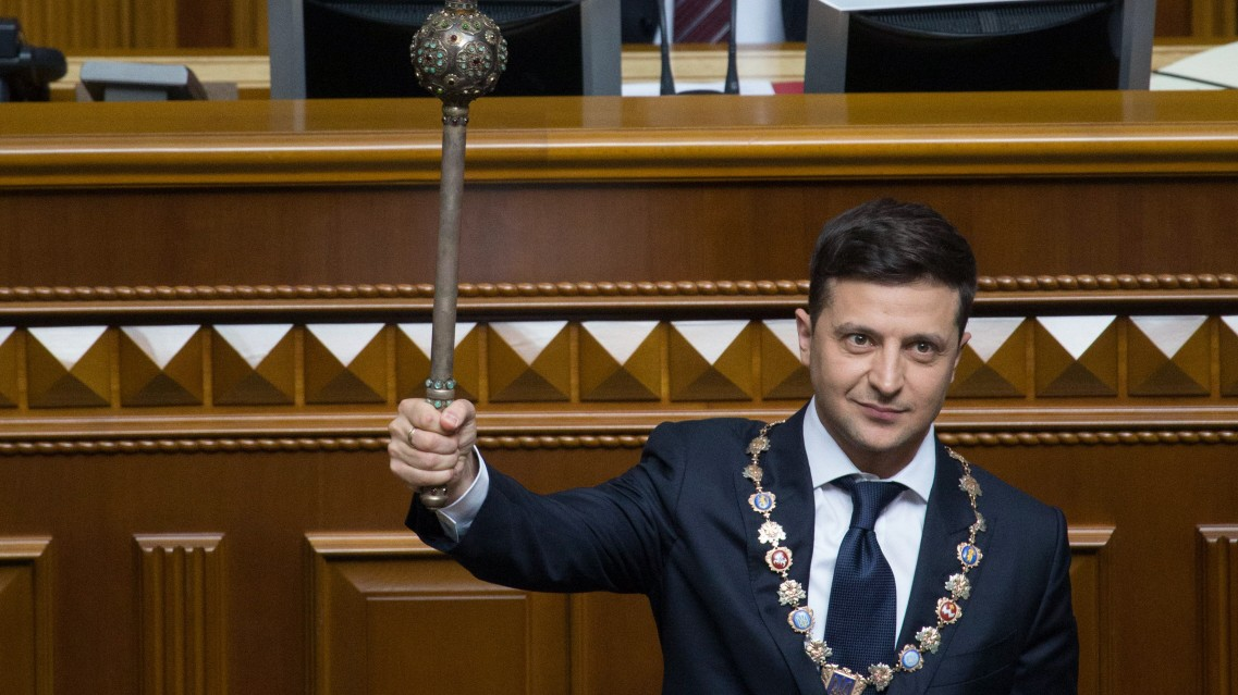 Neuer ukrainischer Präsident löst Parlament auf