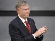 Bundespräsident Horst Köhler unmittelbar nach seiner Wahl am Samstag in Berlin. Foto: ddp