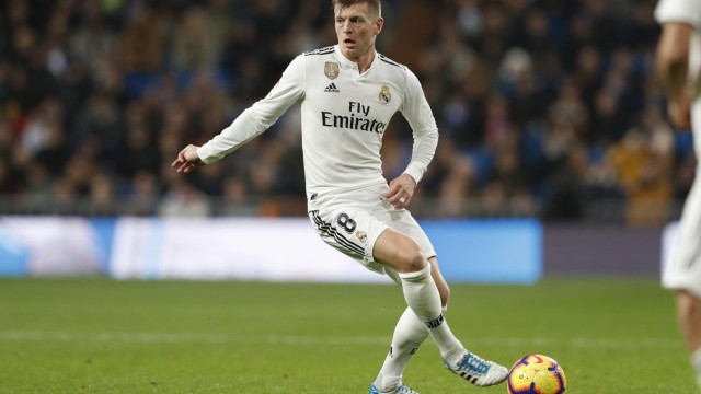 Toni Kroos Real DECEMBER 15 2018 Football Soccer Spanish La Liga Santander match between