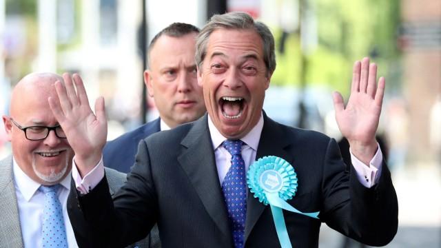 Farage Brexit Europawahl
