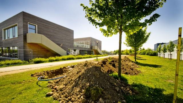 Schule Bergfeld - Container standort