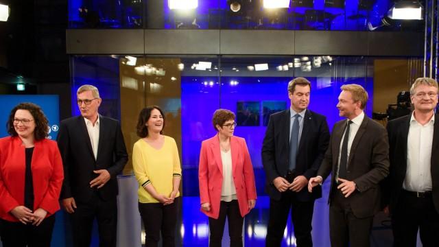 ARD-Sendung Gipfeltreffen Europawahl