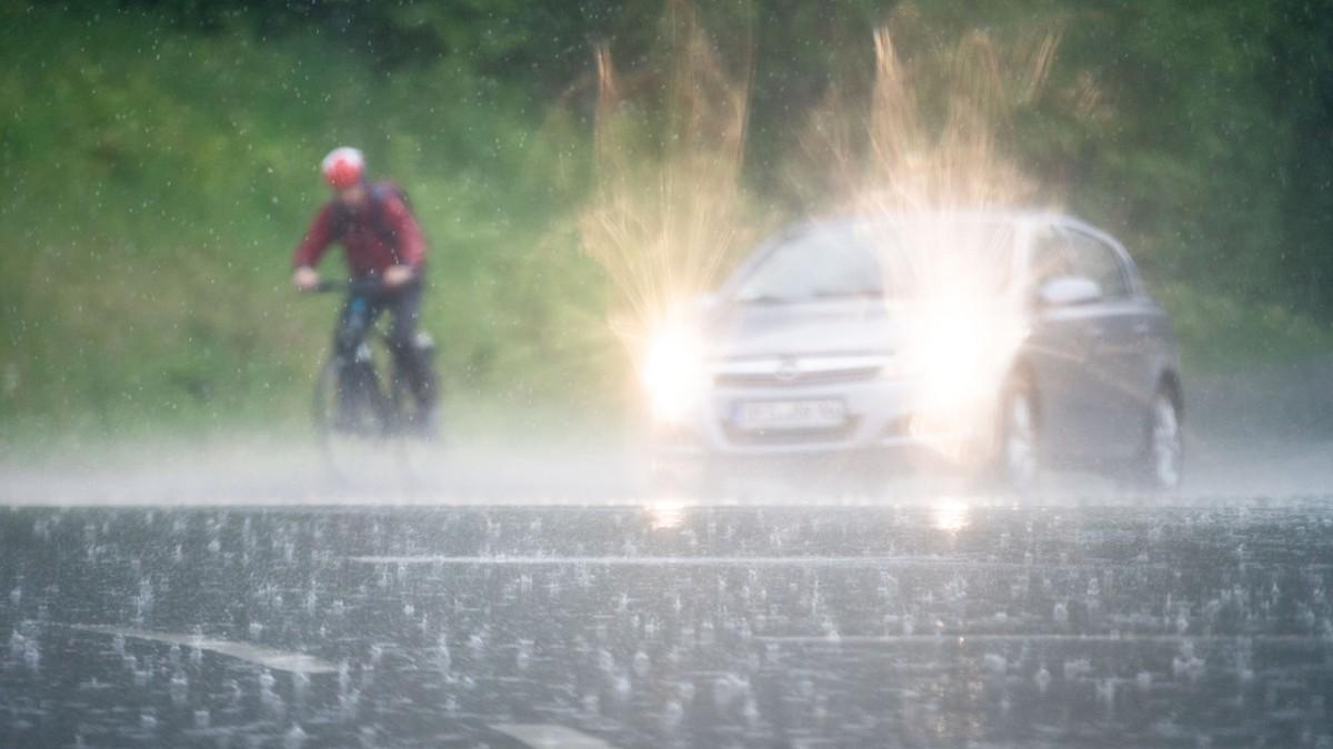 Bayern: Bahn sperrt Strecken wegen Hochwassergefahr
