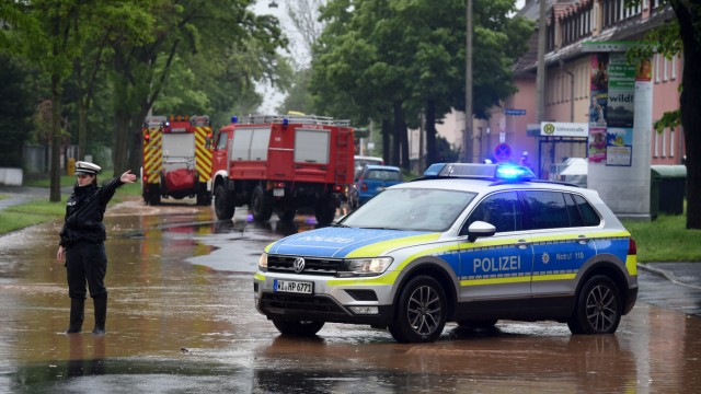Hochwasser Kassel