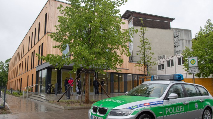 Bombendrohung an Münchener Schule