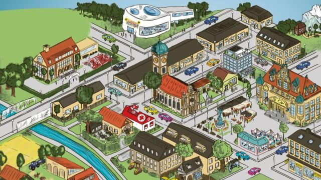 Ein Dorf wie Europa