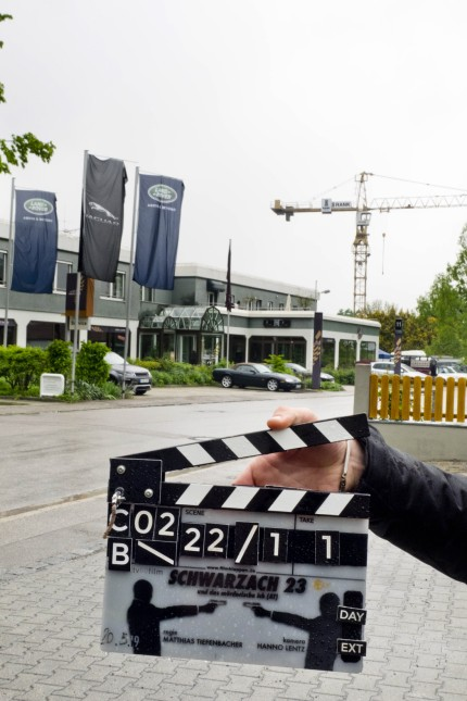 Schwarzach 23 Dreharbeiten in Anzing.
