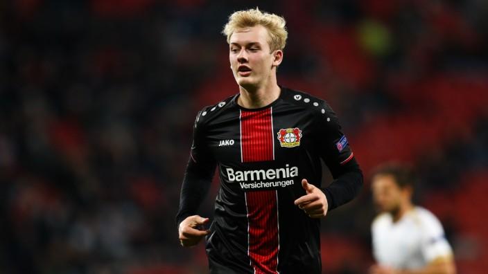 Julian Brandt beim Spiel Bayer Leverkusen gegen den FC Zürich