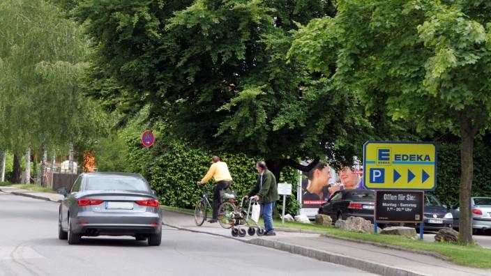 Verkehr an der Lachener Straße