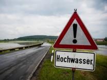 Dauerregen im Süden: Die Hochwasserlage in Bayern am Mittwoch