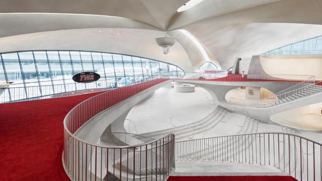 The new TWA Hotel at JFK Airport // PR für die Reise