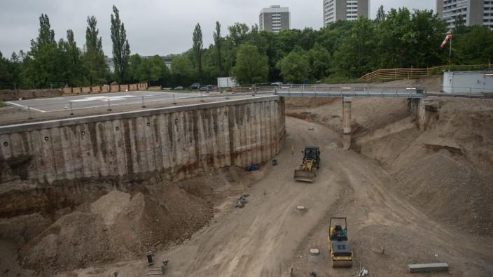 Baustellenbegehung München Klinik Bogenhausen