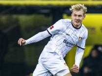 Fußball 1 Bundesliga Saison 2018 2019 23 Spieltag Borussia Dortmund Bayer 04 Leverkusen am