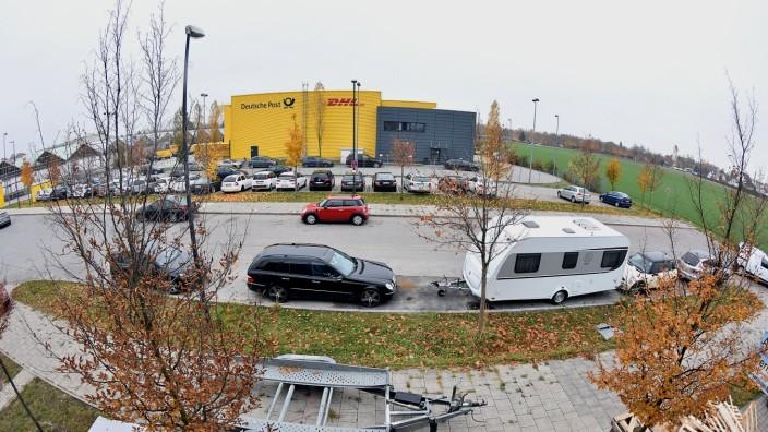 Post plant Neubau in Germering