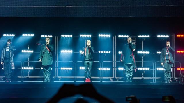 Deutscher Tourneeauftakt der Backstreet Boys