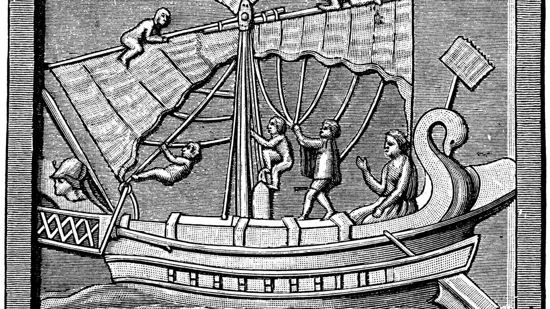 Die alten Römer auf hoher See