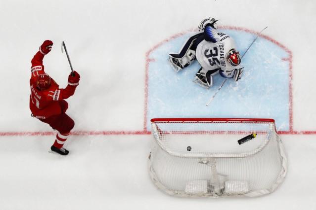 Ice Hockey World Championships - Group B - Russia v USA