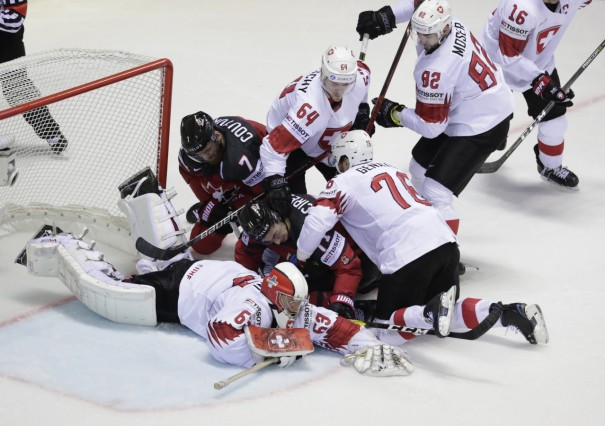 Ice Hockey World Championships - Group A - Canada v Switzerland