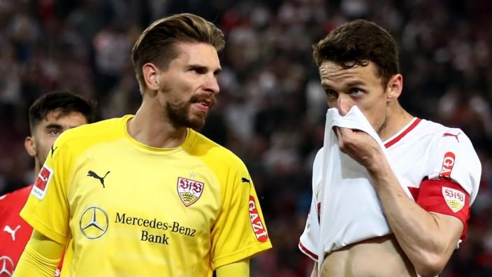 VfB Stuttgart v 1. FC Union Berlin - Bundesliga Playoff Leg One