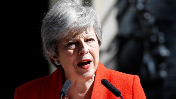Großbritannien - Theresa May verkündet am 24. Mai 2019 ihren Rücktritt als Premierministerin
